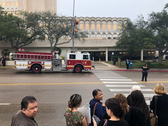 As many as five fire trucks responded to fire alarm