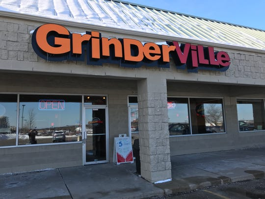 GrinderVille Grinders & Pizza reopened after Justin and Laura Poenitsch purchased it in February 2014.
