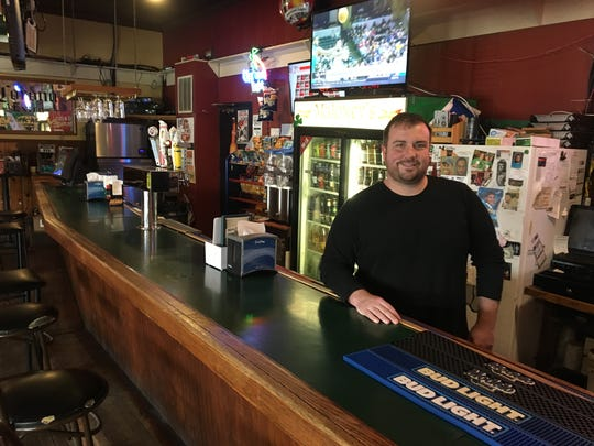 Todd Schimpf, owner of Maloney's Pub in Delhi Township,