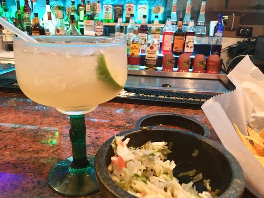 A special-order margarita from Blu Agave in Cape Coral.