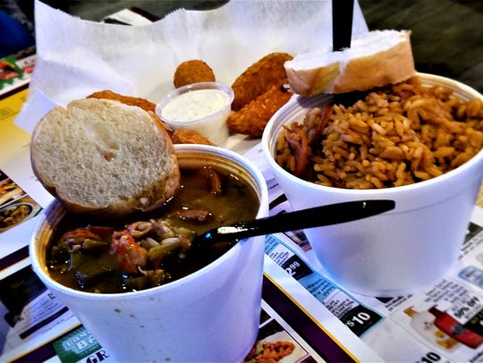 Gumbo and jambalaya will also be in great supply locally
