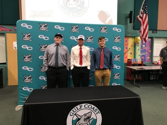 Gulf Coast NSD signees