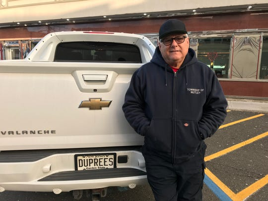 Duprees lead singer Tommy Petillo poses outside the