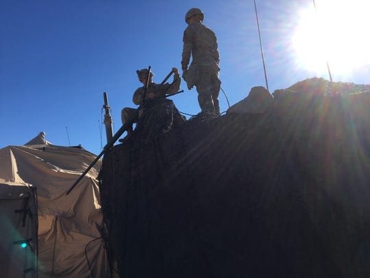 Soldiers put together 2nd Squadron, 13th Cavalry Regiment's