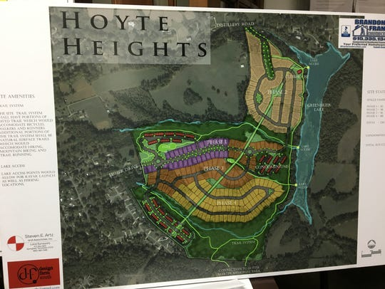 The proposed plans for Greenbrier's pending Hoyte Heights