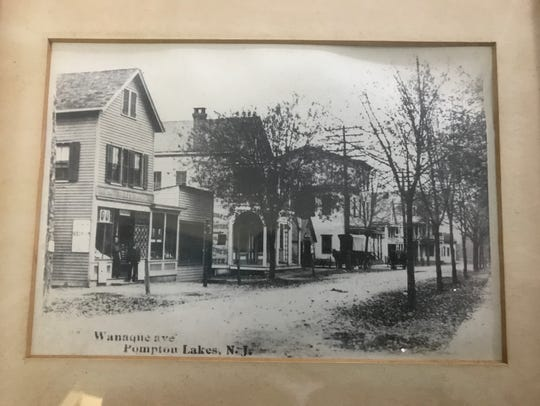 An undated historic photograph of Wanaque Avenue in