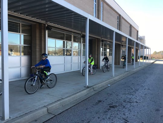 Bike Walk Greenville and the Lakeview Middle School