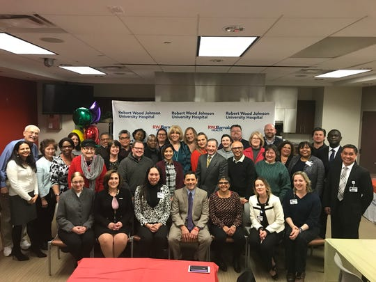 Robert Wood Johnson University Hospital's Proudly Me! Transgender Edu-port (Education and Support) Program launched with a special program Feb. 8.