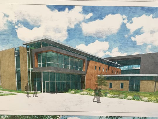 A rendering of the proposed STEM Innovation Center
