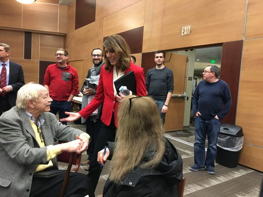 Iowa 3rd Congressional District candidate Cindy Axne