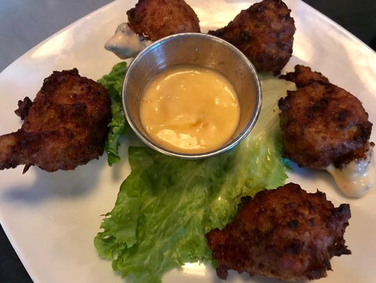 Conch fritters at Naples Coastal Kitchen