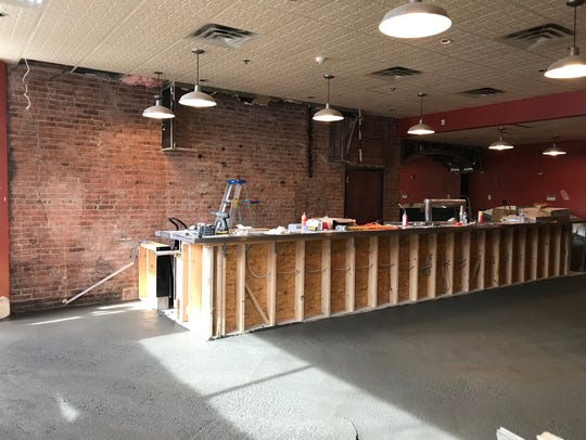 A new bar is being constructed at Steadfast in Rochester's