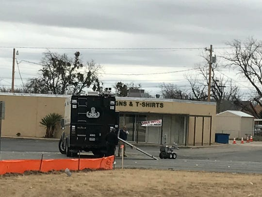 Bomb threat in north San Angelo.