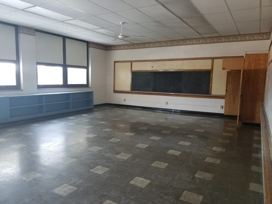 A classroom in the former Maholm Elementary and Par Excellence building on Maholm Street.