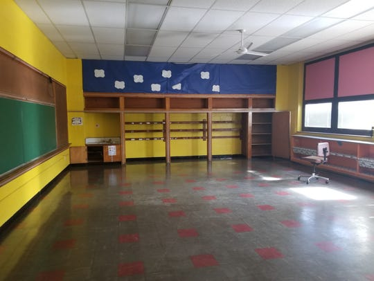 A classroom in the former Maholm Elementary and Par