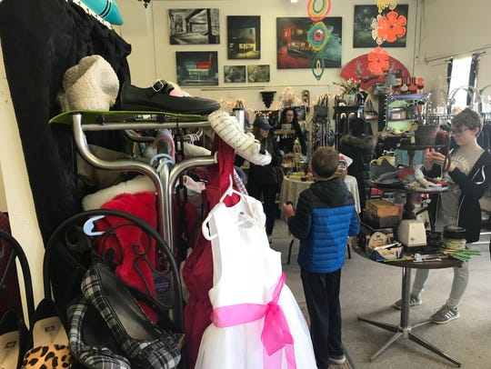 Once a month, the REO Town Marketplace becomes a pop-up
