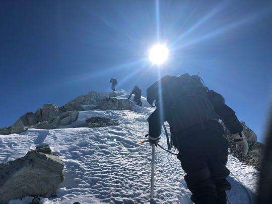 Todd Pendleton climbed Vinson Massif in Antarctica