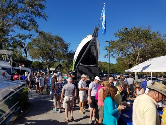 Boat-related vendors and boat dealers provide plenty