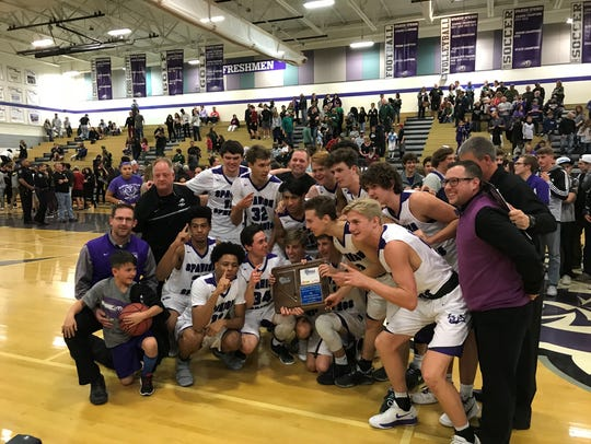 Spanish Springs won the Northern 4A Region boys basketball