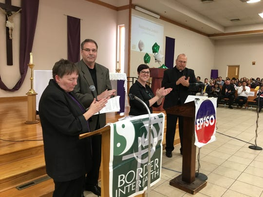 Organizers with EPISO and Border Interfaith applaud