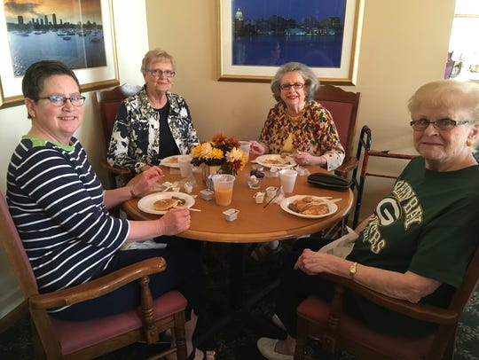 In 2017, one of the many ways Felician Village celebrated