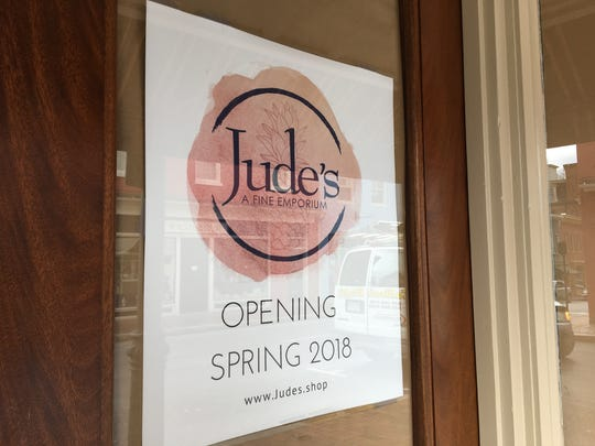 New downtown Staunton business Jude's A Fine Emporium is set to open in mid-March or April at the former location of the Emporium.