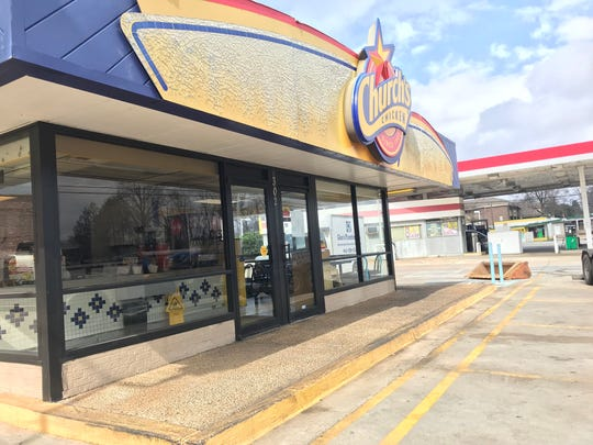 The Church's Chicken restaurant on S. Pleasantburg Drive closed abruptly after being named in a foreclosure lawsuit filed in Charleston County.