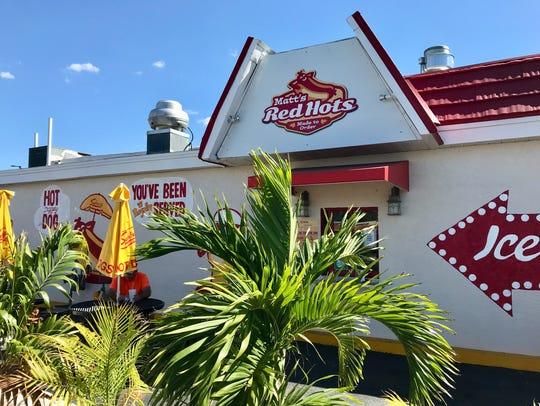 Matt's Red Hots opened in early December in San Carlos