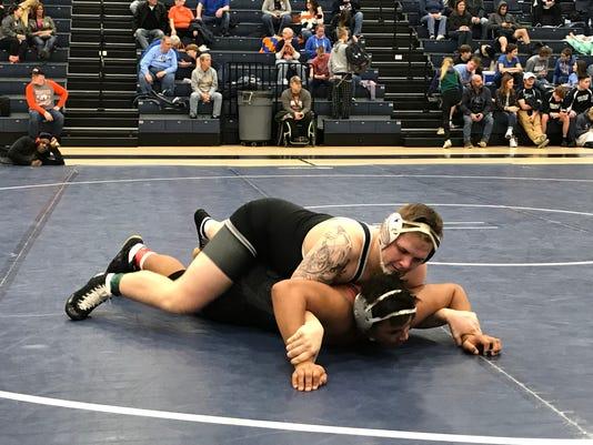 Pleasant wresting Jamie Baisden