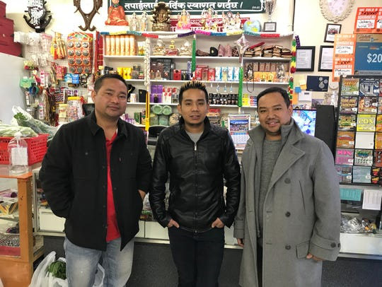 Dragon Asian Market owners Lila Gurung, Aita Gurung