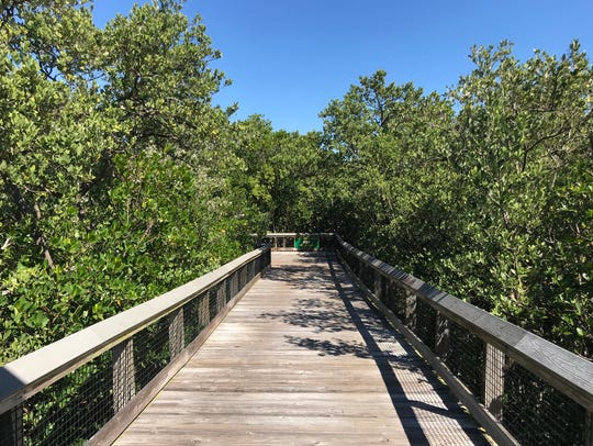A 3,330-foot boardwalk across St. Lucie Inlet Preserve