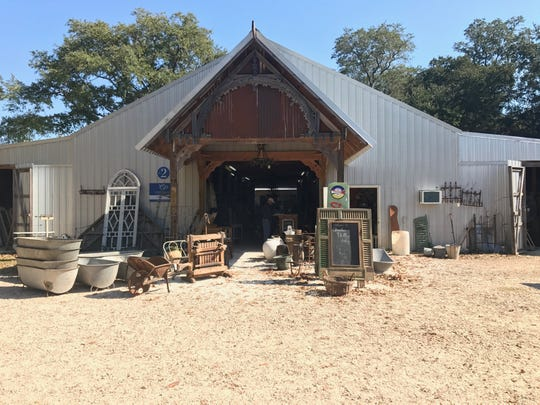 Charles Phillips in Mobile, Alabama, has more than 75,000 square feet of doors, furniture and other accessories and antiques.