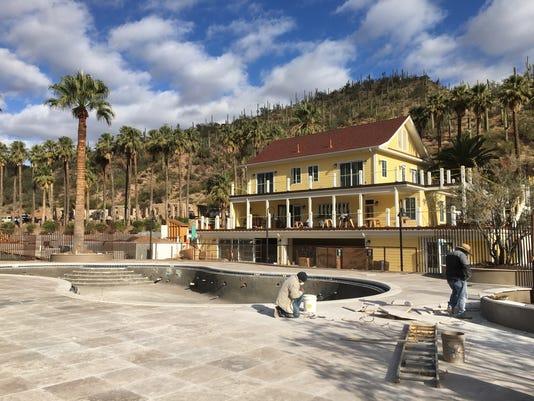 Castle Hot Springs resort
