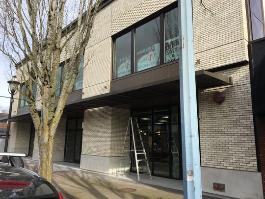 Renovation work at 260 Liberty St. NE in Salem, Oregon,