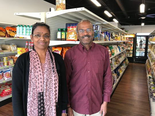 Eswari Muthu and her husband Muthu Kasi opened the