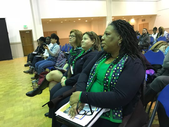 Attendees packed the Women's Agenda at the Council