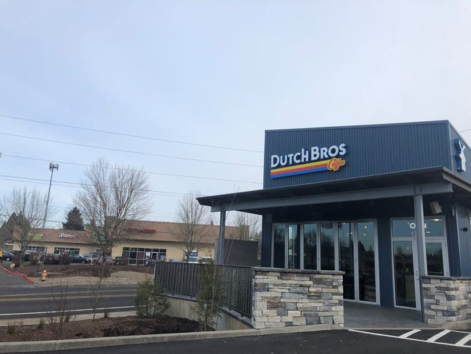 The Dutch Bros on Barnes Avenue SE has soft-opened,