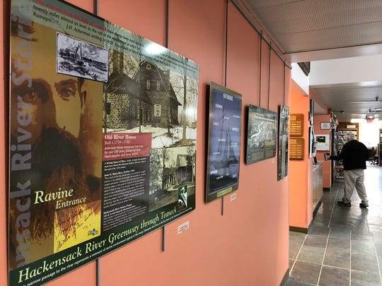 The Teaneck library has an exhibit on artists who have