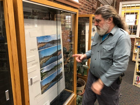 Teaneck Library hosts an exhibit of photos and posters of Hackensack River Greenway