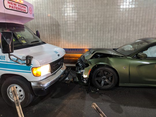 Jets outside linebacker Dylan Donahue drove his car