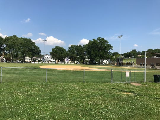 The Garfield mayor and City Council will consider a redevelopment study for Columbus Park, where the Babe Ruth baseball field is located.