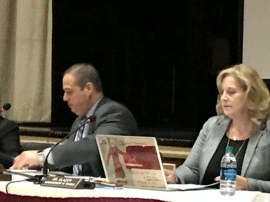Nutley Board of Education President Daniel Carnicella