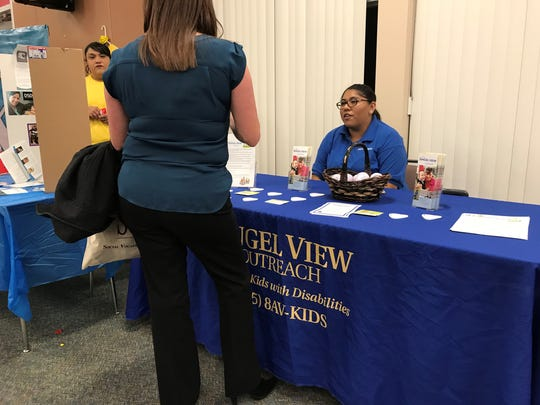 Angel View was one of the 39 local organizations attending last week's expo.