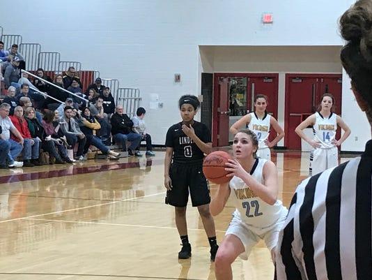 Kamryn Caudill River Valley girls basketball