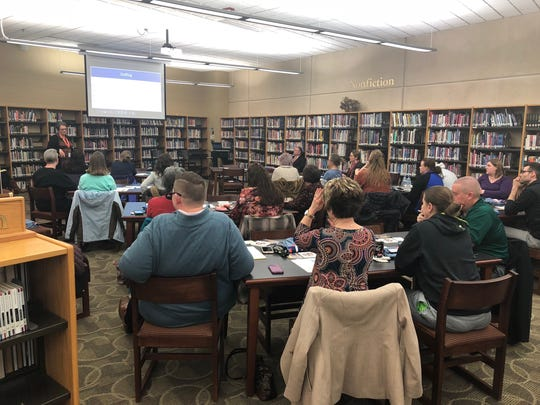 Springfield Public Schools hosted a town hall meeting