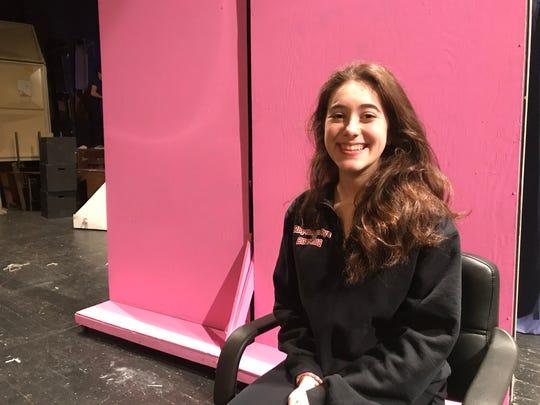 Kaitlyn Zion, 17, a senior at Rye High School, plays