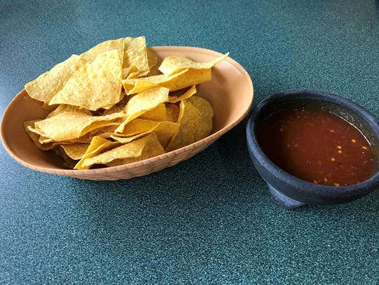 The chips and salsa at Gutierrez Restaurant are top-notch,