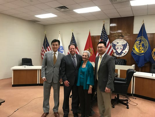 Palisades Park council swearing in