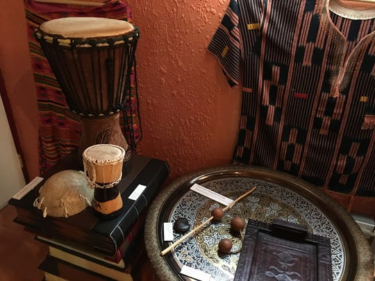 The Houamla Collection of African Arts in Yigo features