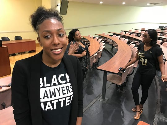 Tawanna Franklin, a third-year student at the FSU College